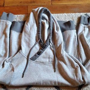 Express Men's hooded sweatshirt